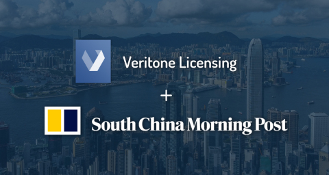 Veritone Licensing signs exclusive agreement with the South China Morning Post to expands its global news library. (Graphic: Business Wire)