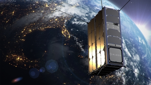Kleos Space's first four 6U satellites are scheduled to launch on a PSLV-C49 rocket out of India. Credit: Kleos Space