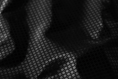 A close-up image of Columbia's Omni-Heat Black Dot technology. (Photo: Business Wire)