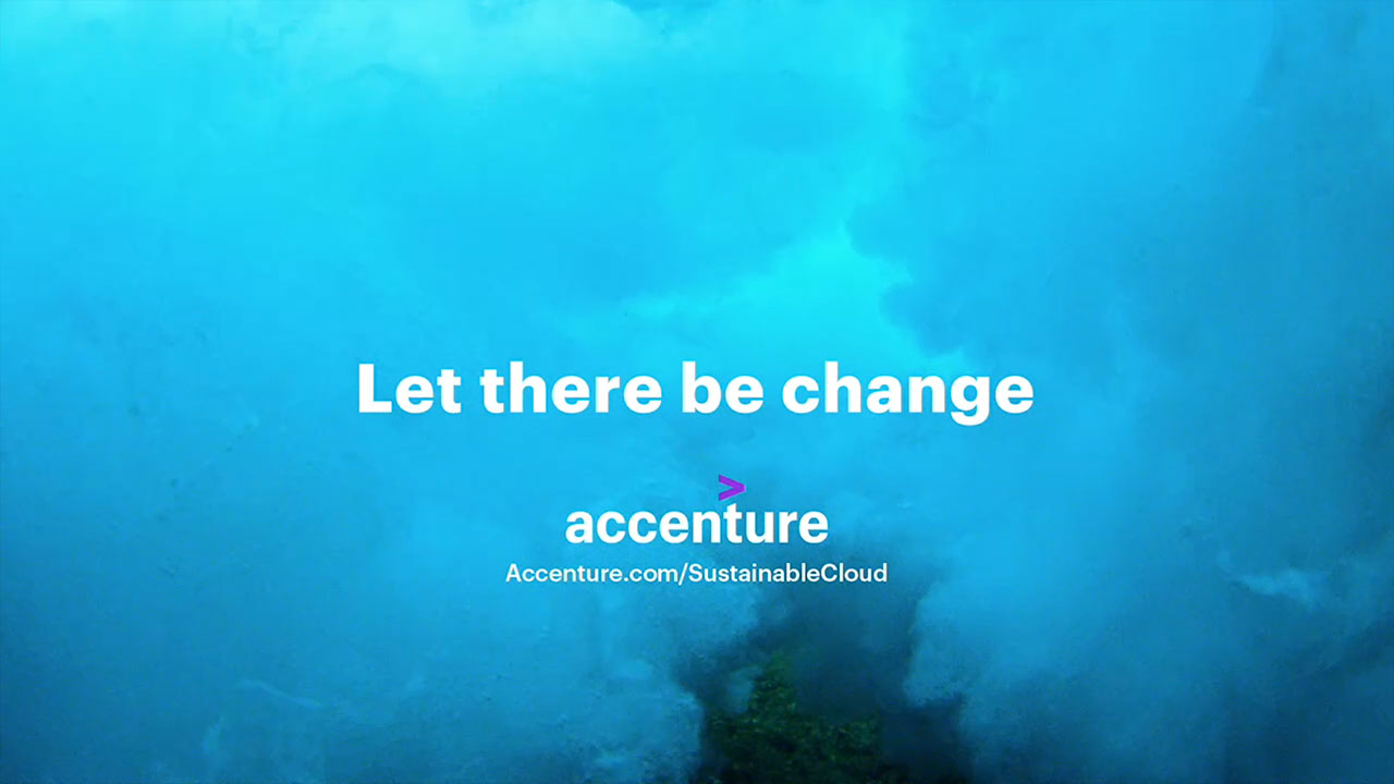 "Accenture's brand campaign, ""Let There Be Change,"" depicts change — both seismic and small — optimistically capturing its power and beauty and reflecting the depth and breadth of Accenture's expertise."