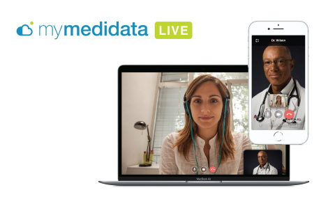 myMedidata LIVE, a new video feature of Medidata's patient portal for clinical trials (Photo: Medidata)