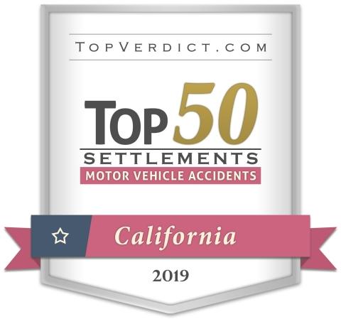 Blair & Ramirez LLP - Top Verdict - Top 50 Motor Vehicle Accident Settlements in California in 2019 (Photo: Business Wire)