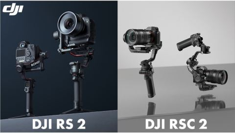 DJI RS 2 and RSC2 Gimbal. (Photo: Business Wire)