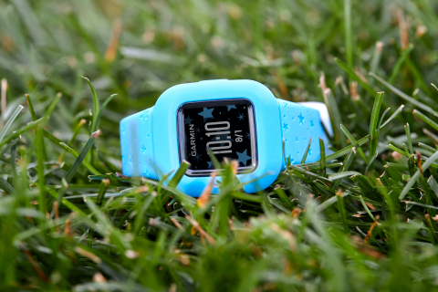 Garmin vívofit jr. 3 in Blue Stars (Photo: Business Wire)