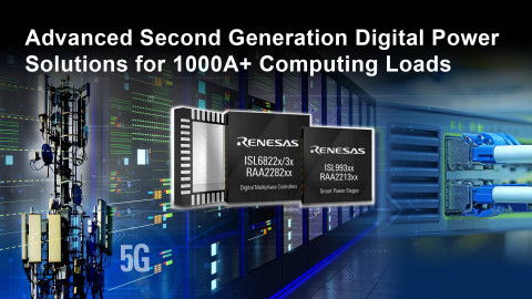Advanced second generation digital power solutions for 1000A+ computing loads (Graphic: Business Wire)