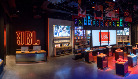 JBL® Celebrates the Grand Opening of its Flagship Store in New York City (Photo: Business Wire)