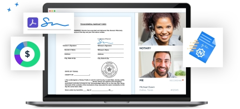 Adobe and Notarize partner to securely and digitally notarize documents 24/7 with Adobe Sign (Graphic: Business Wire)