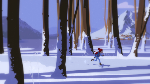 Röki is an adventure game inspired by Scandinavian folklore, underpinned by a touching narrative, an alluring art style, ancient puzzles and atmospheric exploration. (Graphic: Business Wire)