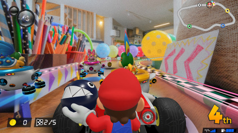 Mario Kart Live: Home Circuit will be available on Oct. 16. (Graphic: Business Wire)