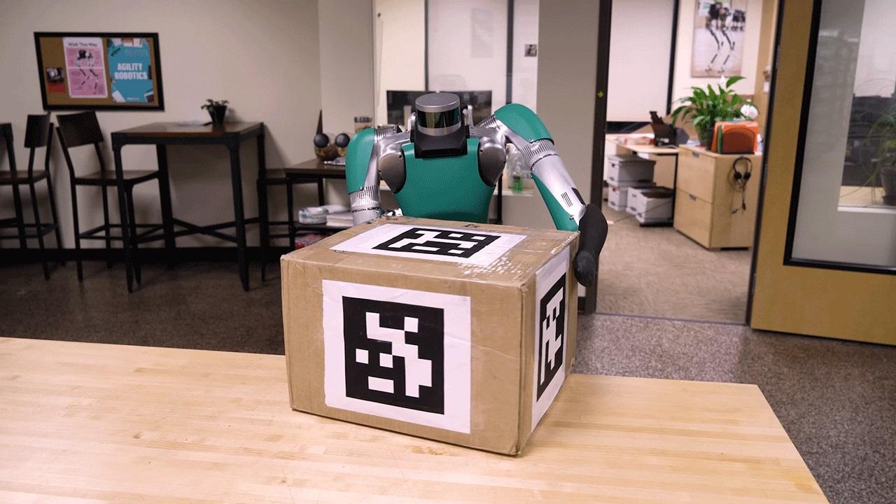 Agility Robotics video + b-roll