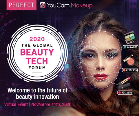 Perfect Corp. takes the Global Beauty Tech Forum virtual on 11/11 (Photo: Business Wire)