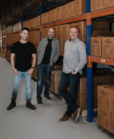 Left to right: Co-Founders Ryan McKenzie, Kevin Hinton and Brad Liski (Photo: Business Wire)