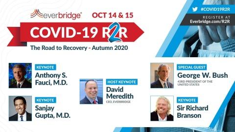 Everbridge COVID-19 Symposium Autumn 2020 (Graphic: Business Wire)