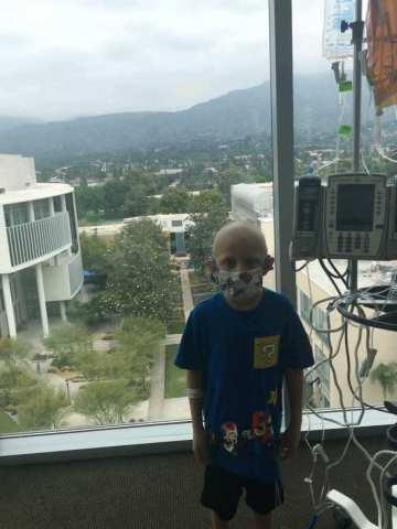 8-year-old City of Hope patient, Joseph Montañez, received life saving bone marrow transplant. (Photo: City of Hope)