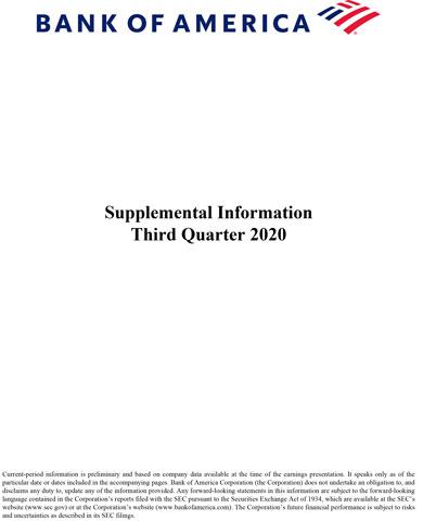 Q3 2020 Bank of America Supplemental Information
