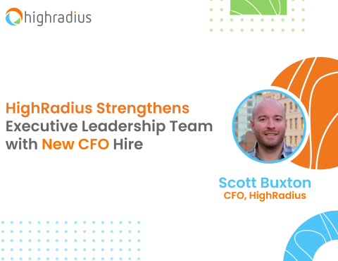 HighRadius Strengthens Executive Leadership Team with New CFO Hire (Photo: Business Wire)