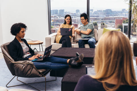 Driving deep levels of connection across time zones, 98 percent of Asana's U.S. employees said that Asana is a great place to work, compared to 59 percent of employees in an average U.S. company. (Photo: Business Wire)
