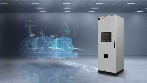 Cummins launched two new Digital Master Controls (DMC), DMC2000 and 6000 to their suite of PowerCommand® power system paralleling products. The new DMC products are paralleling systems designed to directly interface with Cummins Power Generation PowerCommand generator sets and switchgear and ATS to deliver a truly integrated power control solution. This integrated power system solution seamlessly provides reliability and dependability when our customers need it most whether they be in critical applications like hospitals, airports, data centers, telecommunications or high-tech manufacturing facilities. (Graphic: Business Wire)