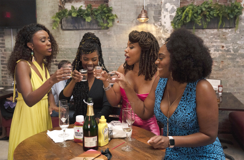 """THE TWO-HOUR PREMIERE OF """"TYLER PERRY'S SISTAS"""" DELIVERED 3 MILLION TOTAL VIEWERS P2+ WITH ITS SECOND EPISODE RETAINING A REMARKABLE 98% OF ITS AUDIENCE. New Episodes of """"Tyler Perry's Sistas"""" airs Wednesdays at 9 PM ET on BET and BET Her. (Photo: Tyler Perry Studios/BET)"""