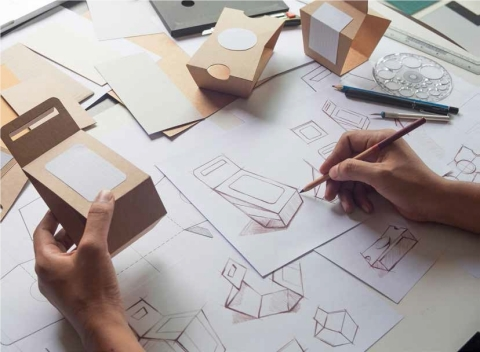 DS Smith, a sustainable packaging leader, announced its innovative design methodology has removed 20,000 tons of raw material from the manufacturing process, despite increasing overall production. (Photo: DS Smith)
