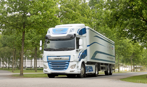 DAF CF Electric Truck (Photo: Business Wire)