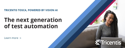 Tricentis Unveils Next Gen AI Powered Test Automation (Photo: Business Wire)