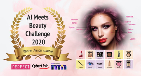 """Perfect Corp. announced winners of the 3rd annual """"AI Meets Beauty"""" challenge (Graphic: Business Wire)"""