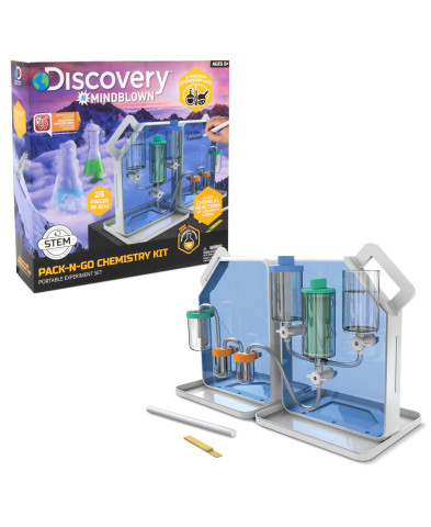 Macy's is the destination for top gifts at every price for everyone on the list; Discovery Mindblown Toy Chemistry Pack-N-Go Experiment Set, $69.99 (Photo: Business Wire)
