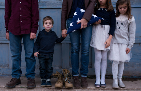 Folds of Honor provides educational scholarships to the spouses and children of America's fallen and disabled service members. (Photo: Business Wire)