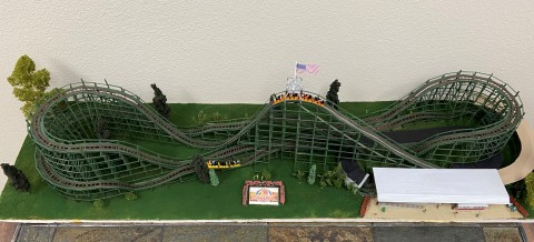 A recently-restored model of the Phoenix wooden coaster has been donated to the National Roller Coaster Museum in Plainview, Texas. The Phoenix wooden coaster is one of the featured attractions at Knoebels Amusement Resort in Elysburg, Pennsylvania. (Photo: Business Wire)
