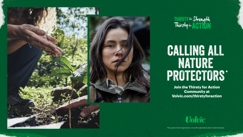 """Volvic Creates """"Thirsty for Action"""" Grant to Support Nature Protectors and Initiate a Global Community (Photo: Business Wire)"""