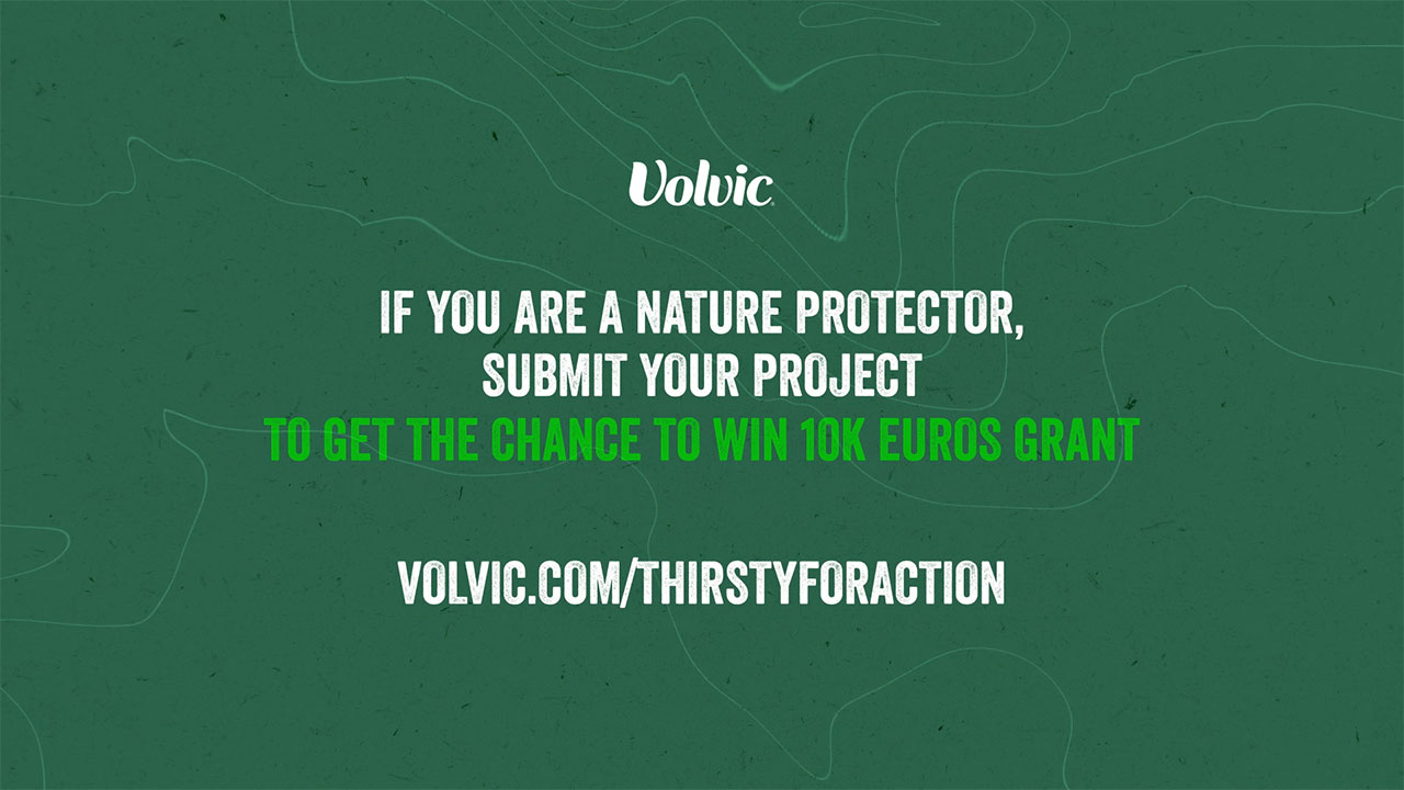 """Volvic Creates """"Thirsty for Action"""" Grant to Support Nature Protectors and Initiate a Global Community"""