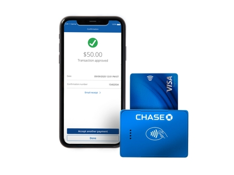 Chase Business Complete Banking with QuickAccept (Photo: Business Wire)