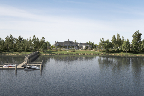 K. Hovnanian's® Four Seasons at Kent Island's Waterfront Clubhouse Complex (Photo: Business Wire)