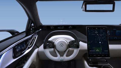 FF 91 head-up display (Photo: Business Wire)