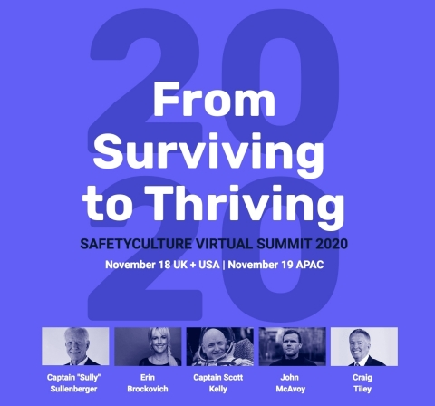 Stories of resiliency, innovation, and adaptation through adversity: SafetyCulture Summit 2020 (Graphic: Business Wire)