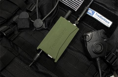 TrellisWare's new TW-860 TSM Spirit™ radio. (Photo: Business Wire)