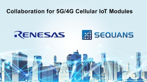 Collaboration for 5G/4G cellular IoT modules (Photo: Business Wire)