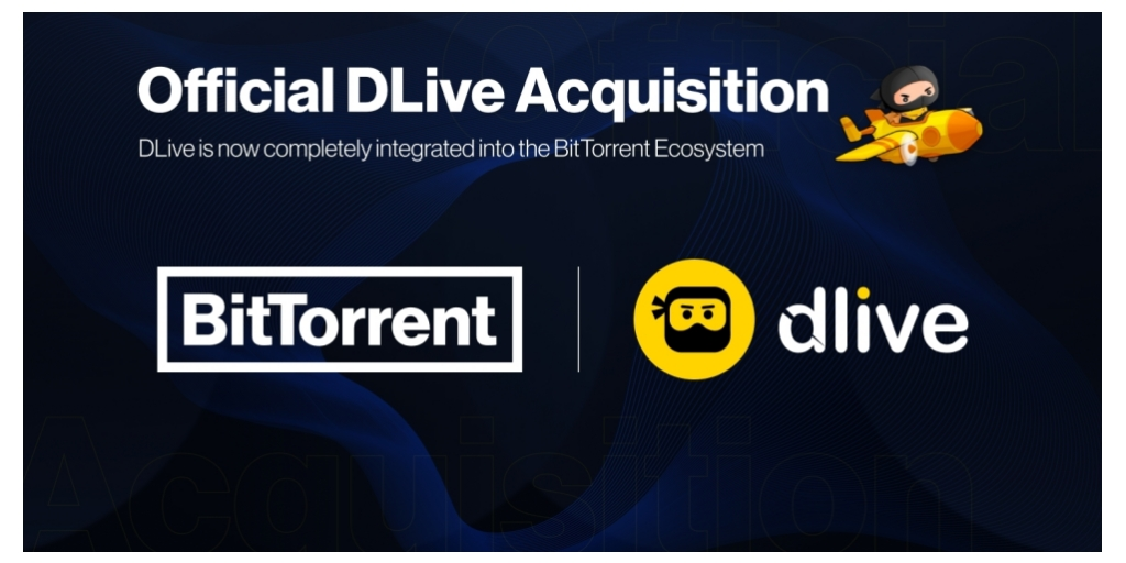 <bold>BitTorrent</bold> Announces DLive Acquisition and New <bold>BitTorrent</bold> X Ecosystem