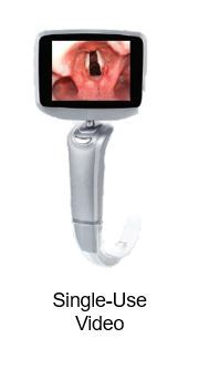 """The ClearViz™ Video Laryngoscope incorporates a unique patented handle design that enables a clinician to easily and quickly switch between adult, pediatric or infant modes on the fly. This innovative handle attaches to a 3.5"""" HD video monitor display or wireless module to pair with a 13.3"""" HD video monitor. Li-Ion batteries provide 4 hours of dependable continuous run-time along with many other vital features for any clinical scenario. (Photo: Business Wire)"""