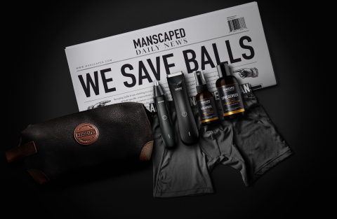 This year's must-have holiday gift is MANSCAPED's Performance Package, complete with The Lawn Mower 3.0, The Weed Whacker, and other head-to-toe grooming essentials. (Photo: Business Wire)