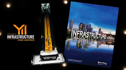 Tous les lauréats, finalistes et nommés Year in Infrastructure 2020 figureront dans l'Infrastructure Yearbook 2020 qui sera publié début 2021. (Photo: Business Wire)
