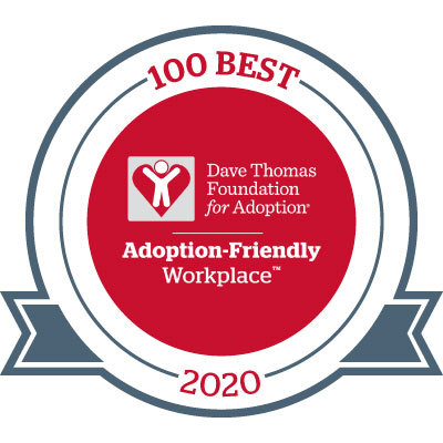 Dorsey been recognized as a 2020 Best Adoption-Friendly Workplace (Graphic: Business Wire).