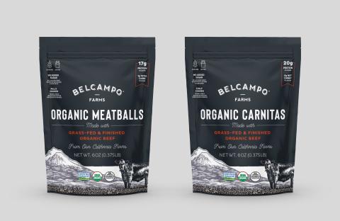 Belcampo Organic Carnitas & Organic Meatballs (Photo: Business Wire)