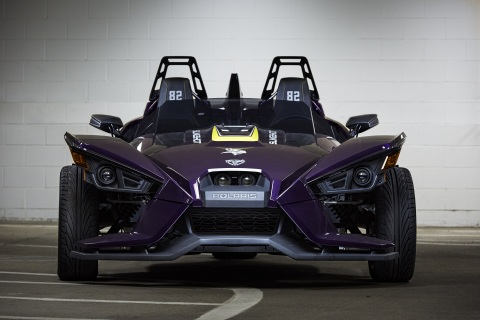 Polaris Slingshot & Minnesota Vikings' Kyle Rudolph Charity Auction (Photo: Business Wire)