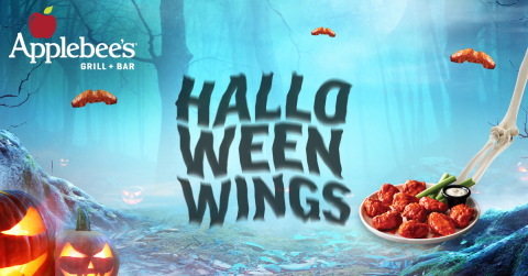 BOO! Applebee's Treats with a Monstrous Halloween Wings Deal (Graphic: Business Wire)