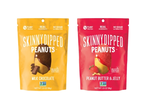 SkinnyDipped Peanuts (Photo: Business Wire)