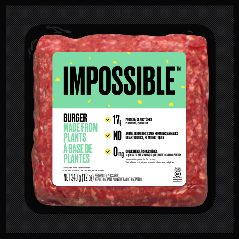 Impossible Burger (Graphic: Business Wire)