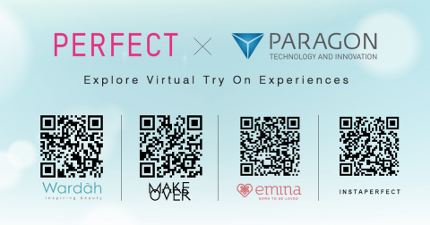 Perfect Corp. and Paragon Technology and Innovation bring AR virtual makeup try-on experience to Indonesian beauty shoppers (Graphic: Business Wire)
