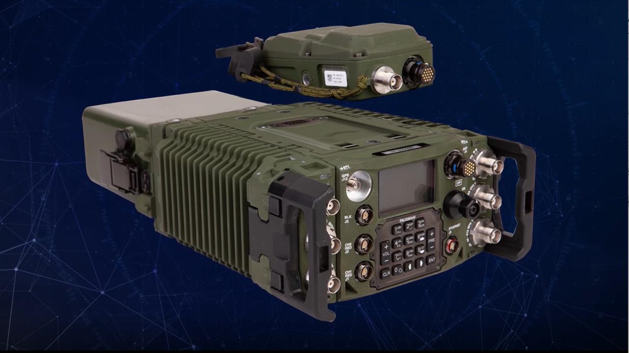 Falcon® IV Multi-Channel Manpack Radio